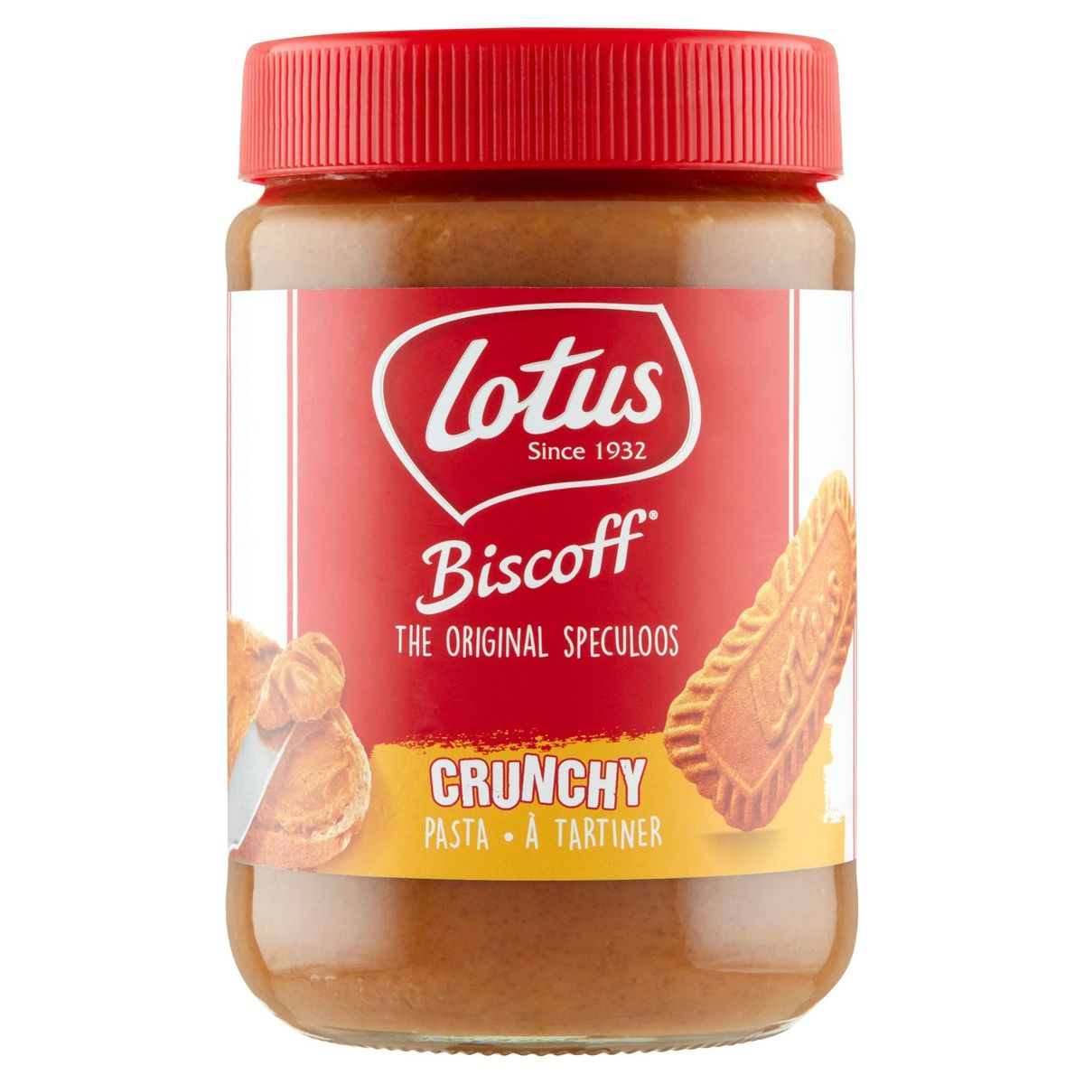 Lotus The Original Speculoos Crunchy à Tartiner 700 g