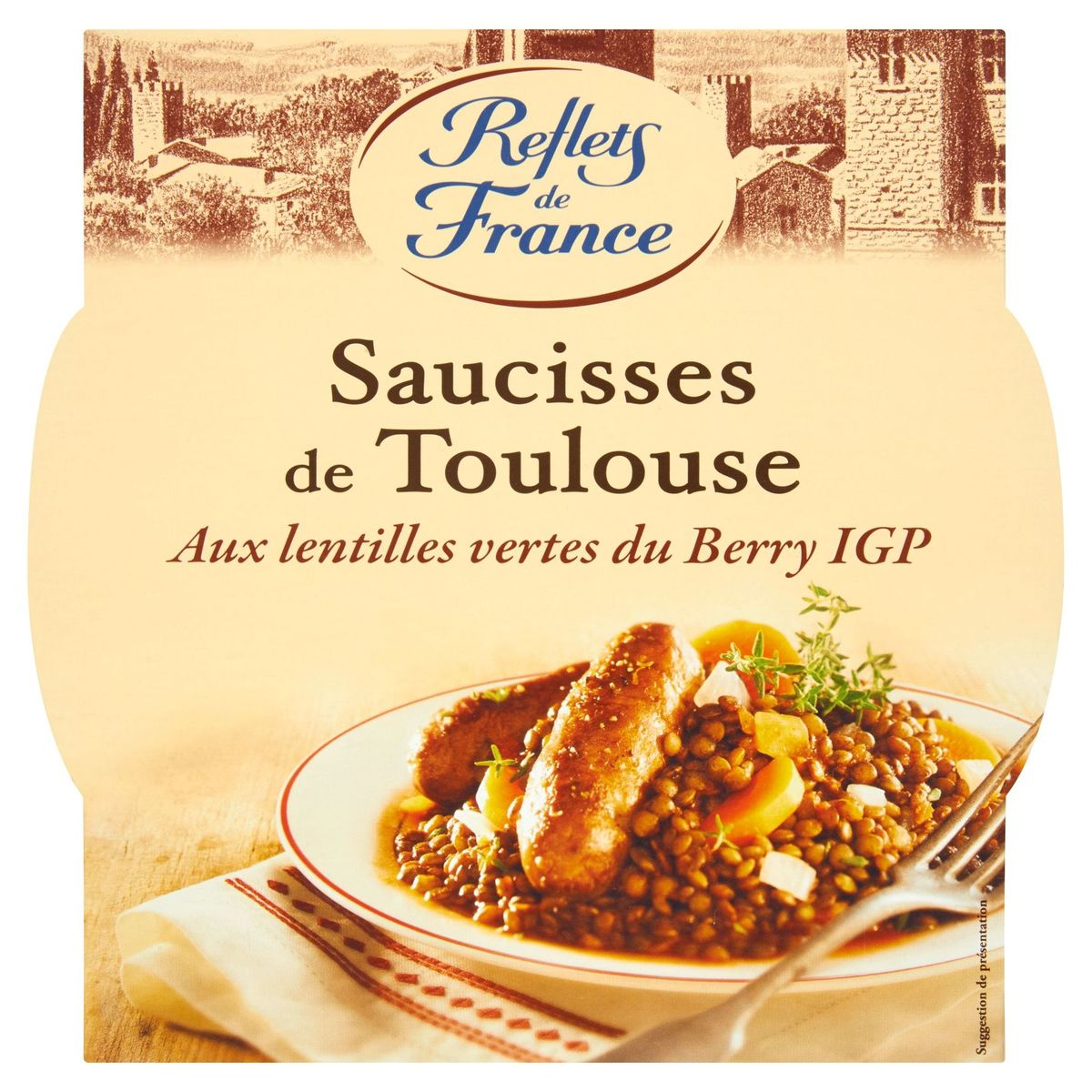 Reflets de France Saucisses de Toulouse 300 g