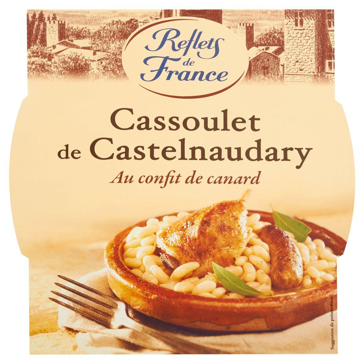 Reflets de France Cassoulet de Castelnaudary au Confit de Canard 300 g