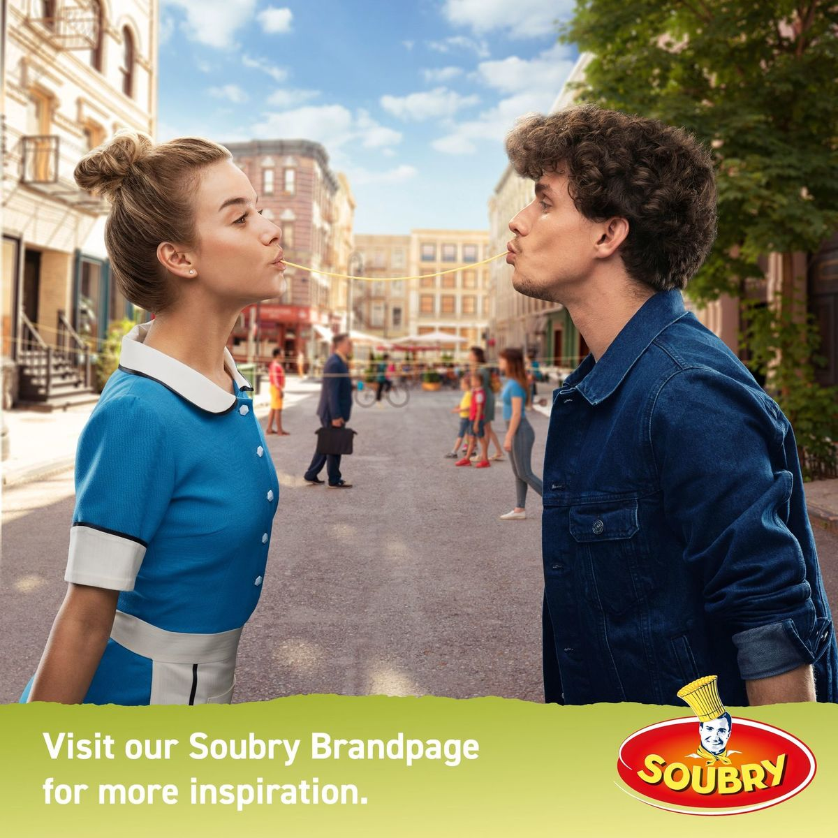 Soubry Spaghetti Fin Épeautre 375 g