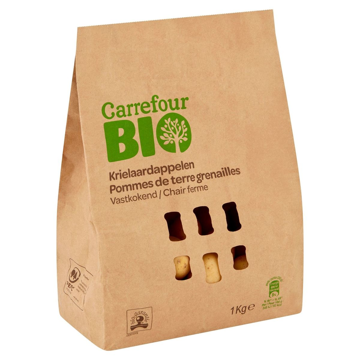 Carrefour Bio Krielaardappelen Vastkokend 1 kg