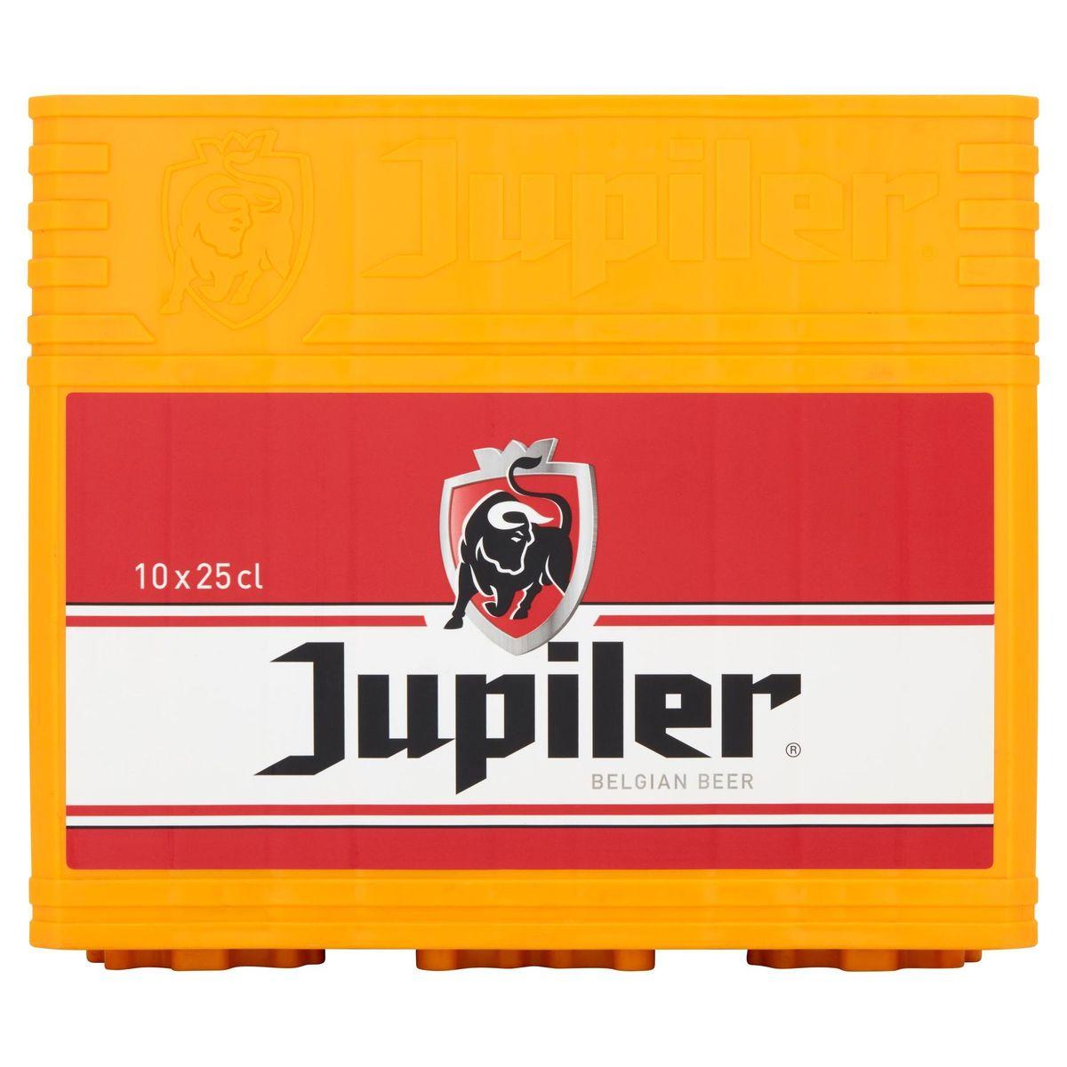 Jupiler Belgische Pils Krat 10 x 25 cl