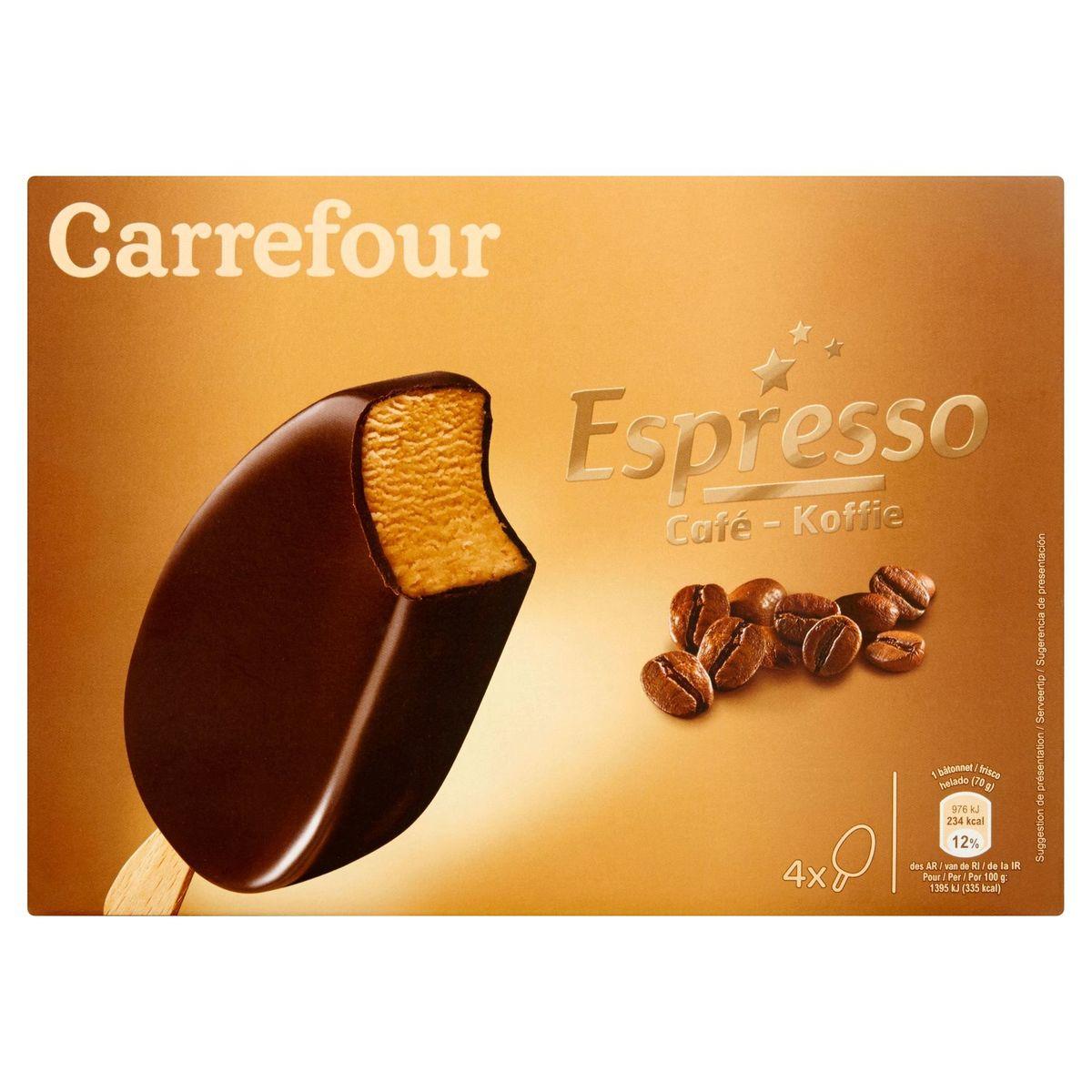 Carrefour Espresso Koffie 4 x 70 g
