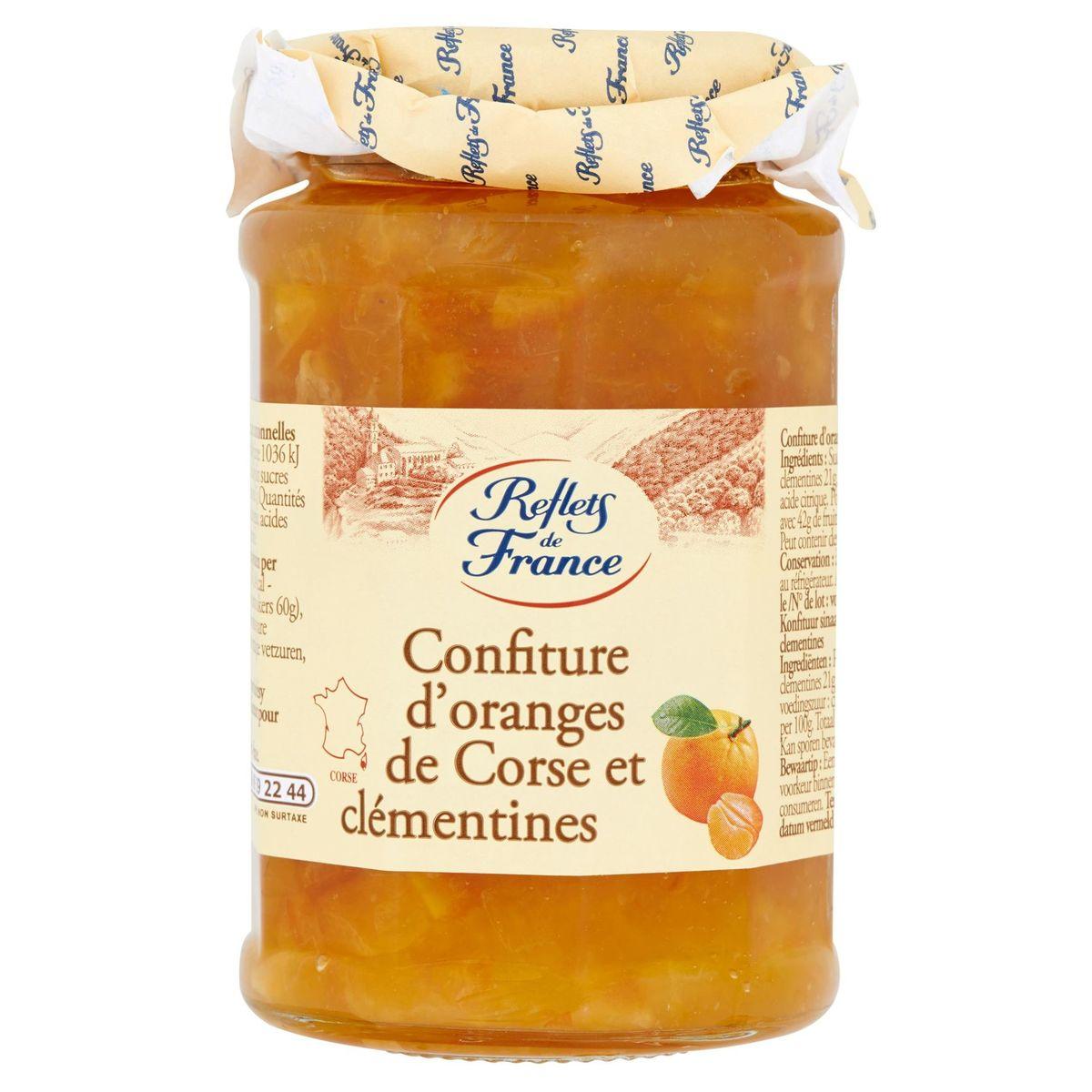 Reflets de France Confiture d'Oranges de Corse et Clémentines 325 g