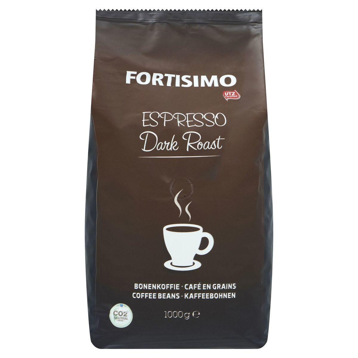 Beyers Fortisimo Espresso Dark Roast Café en Grains 1000 g