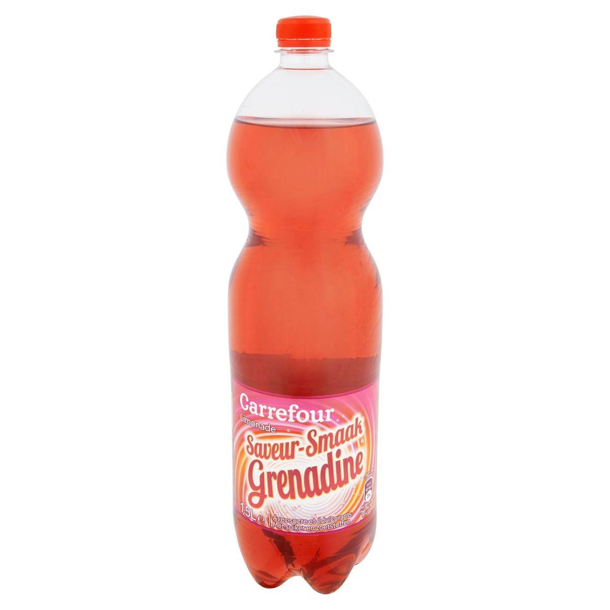 Carrefour Limonade Saveur Grenadine 1.5 L
