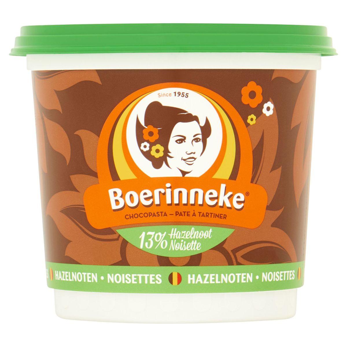 Boerinneke Pate à Tartiner Noisettes 400 g