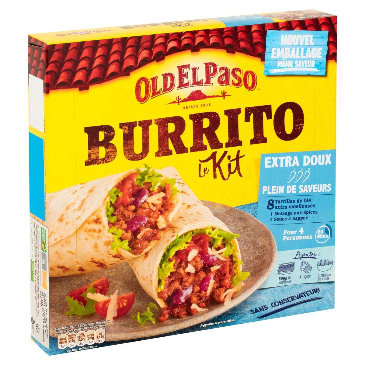Old El Paso Burrito Le Kit Extra Doux 491 g