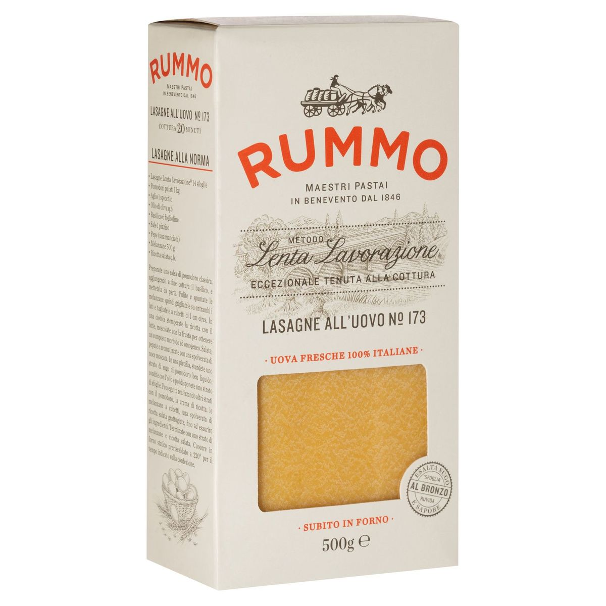 Rummo Lasagne All'Uovo N° 173 500 g