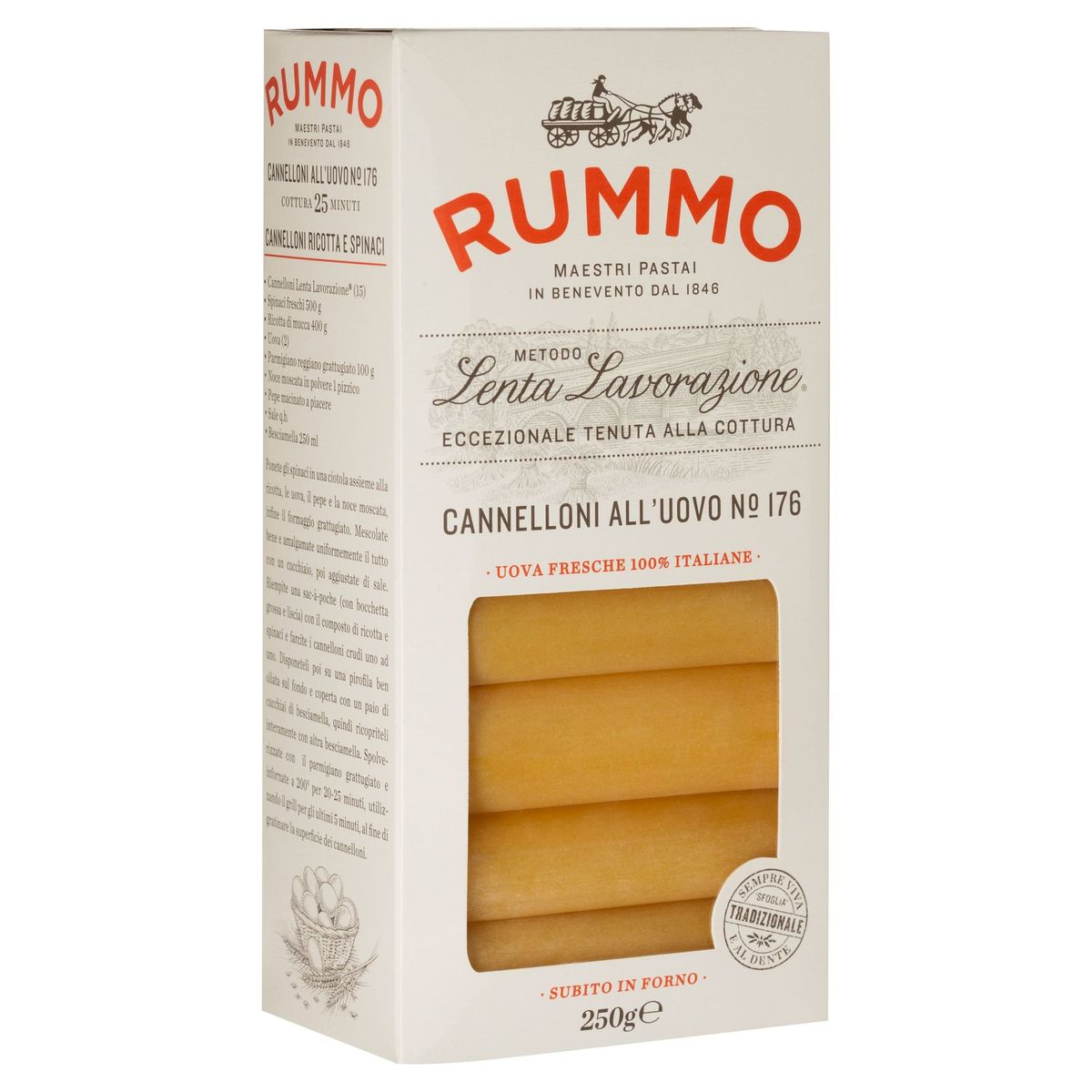Rummo Cannelloni All'Uovo N° 176 250 g