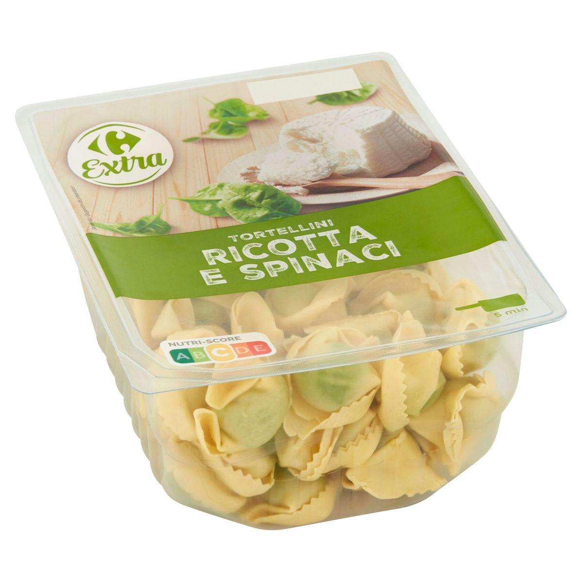 Carrefour Extra Tortellini Ricotta e Spinaci 500 g