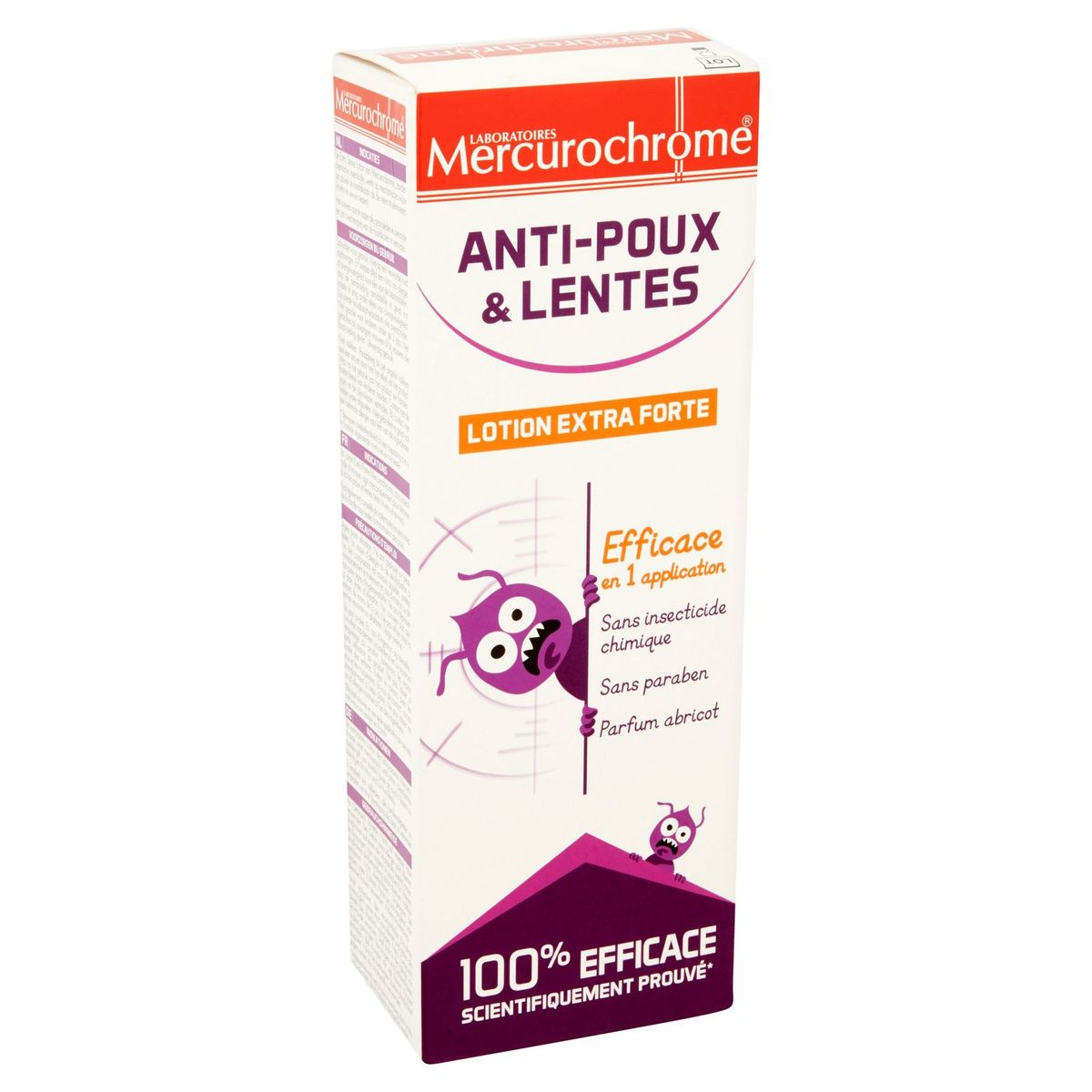 Laboratoires Mercurochrome Anti-Poux & Lentes Lotion Extra Forte 100ml