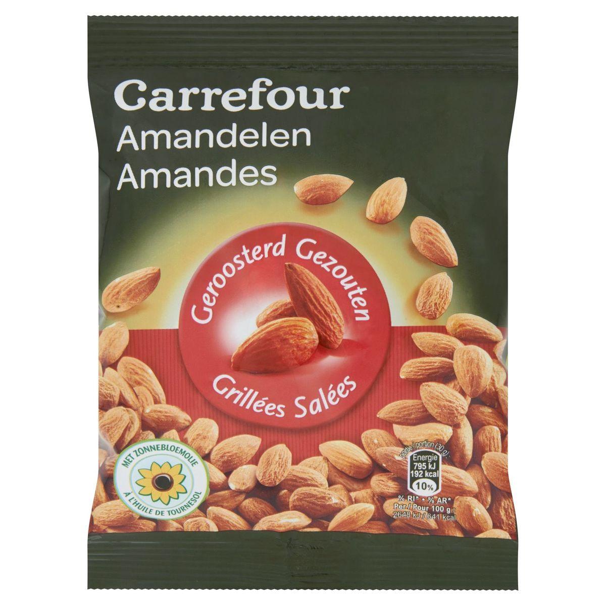 Carrefour Amandes Grillées Salées 150 g