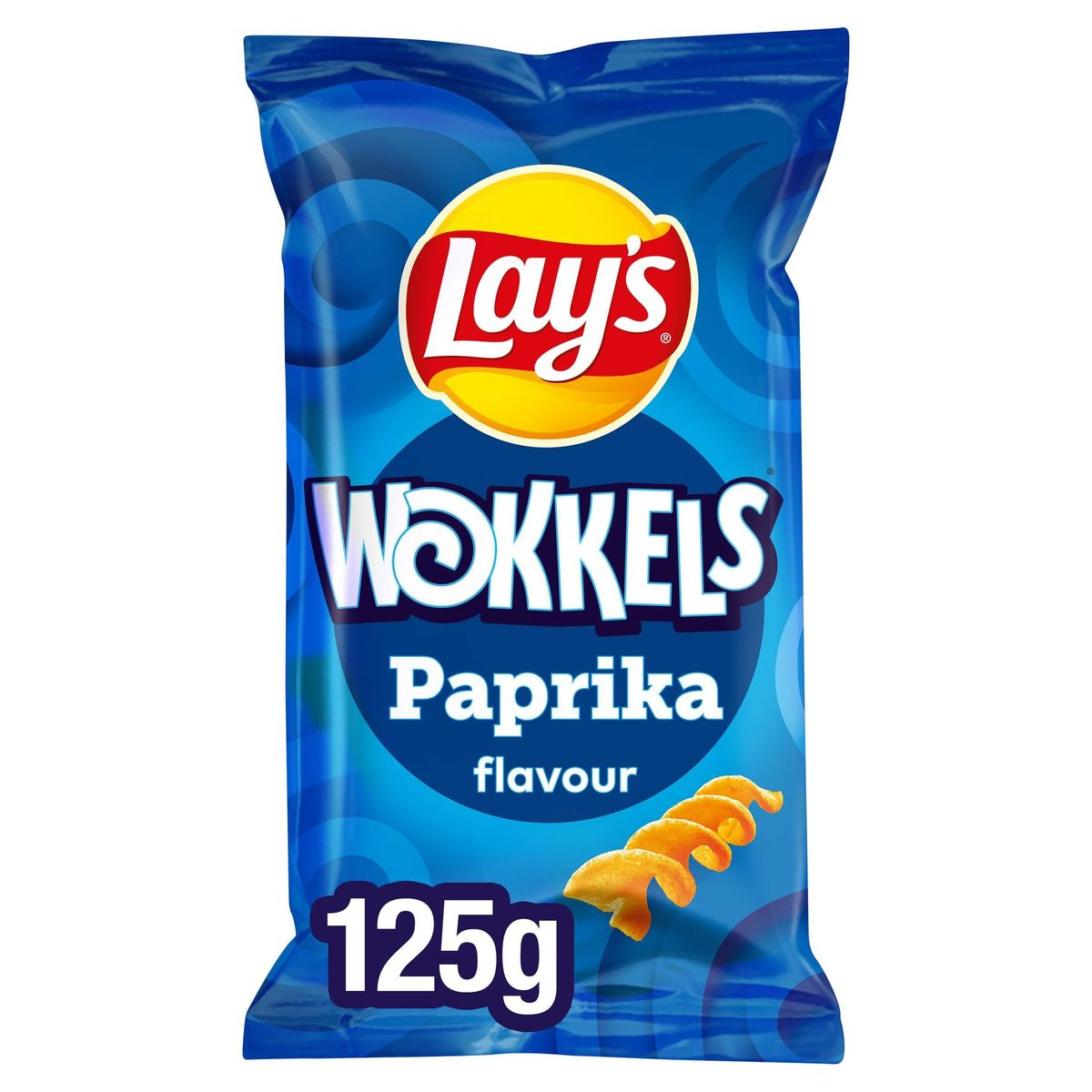 Lay's Chips Wokkels Paprika 125 gr