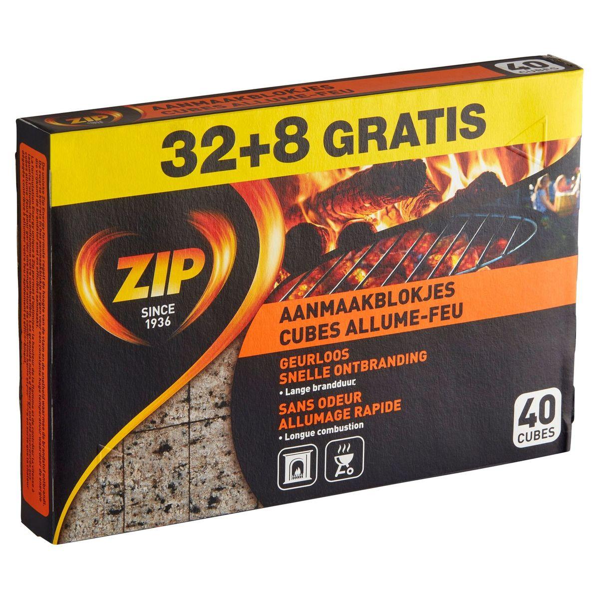 Zip Aanmaakblokjes 40 Cubes