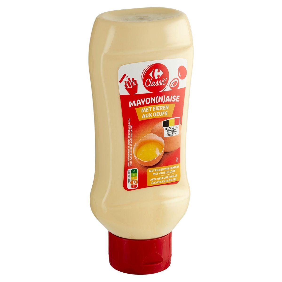 Carrefour Classic' Mayonaise met Eieren 465 g