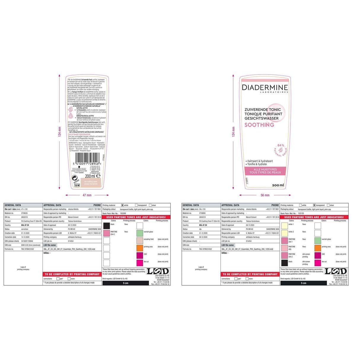 Diadermine Tonique Purifiant 200 ml