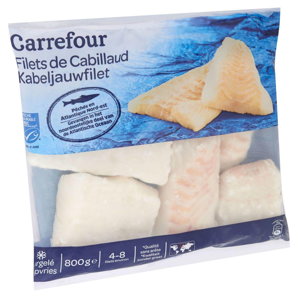 Carrefour Kabeljauwfilet 800 g