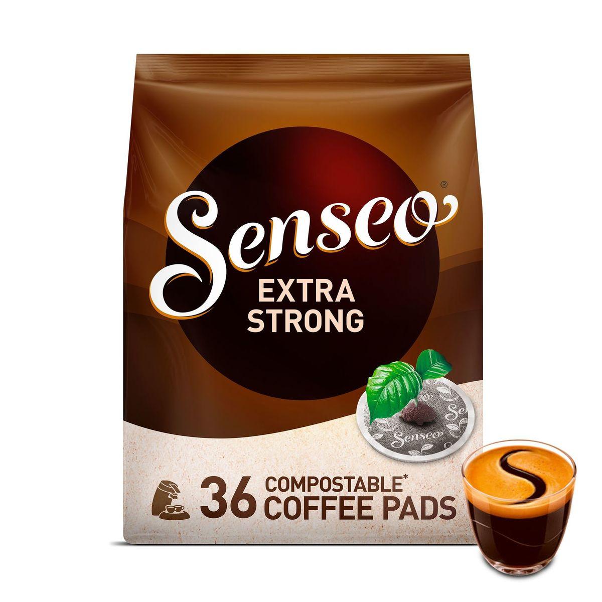 Senseo Café Dosettes Compostables* Extra Strong 36 Pièces