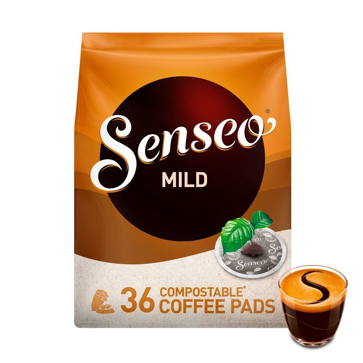 Senseo Café Dosette Compostables* Mild 36 Pièces