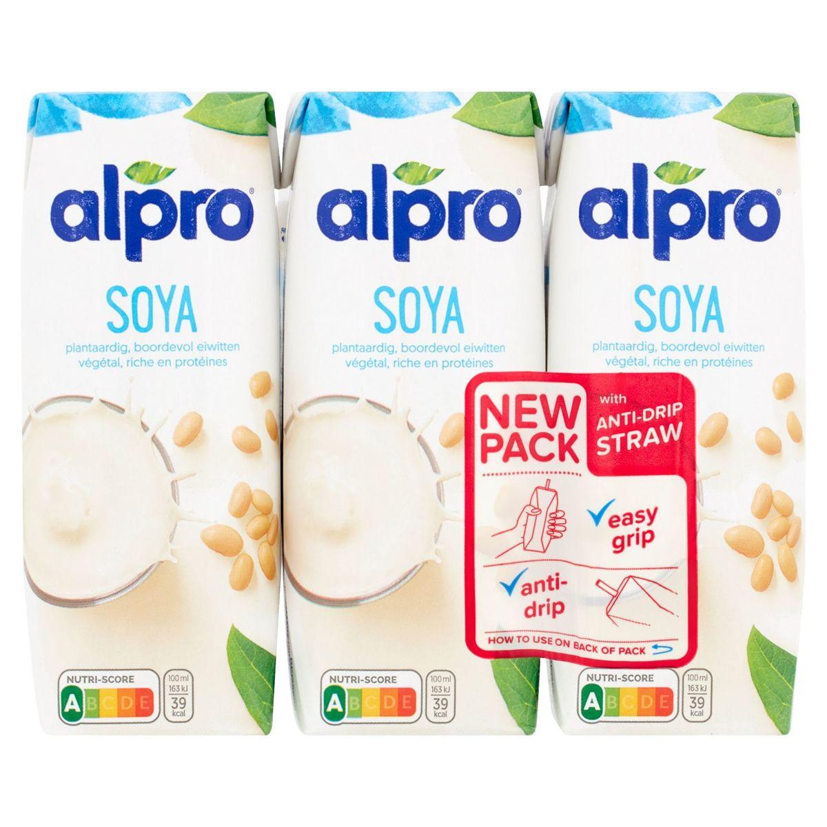 Alpro Boisson à base de Soja 3 x 250 ml