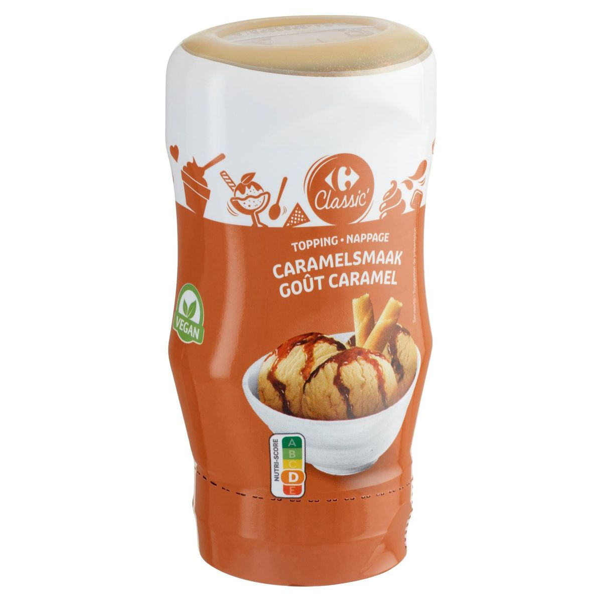 Carrefour Classic' Topping Caramelsmaak 375 g