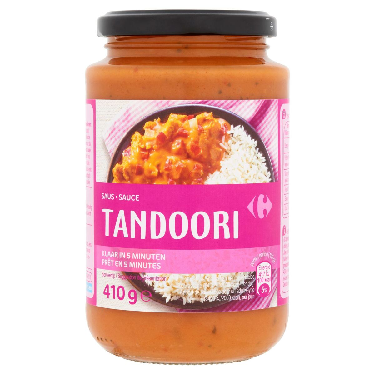 Carrefour Tandoori Saus 410 g