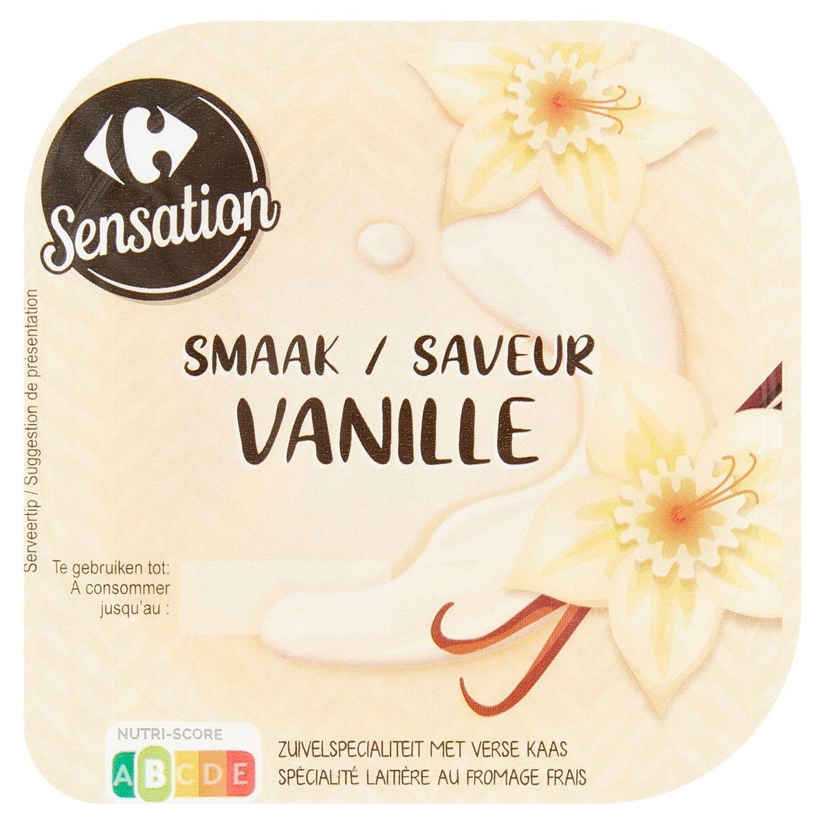 Carrefour Sensation Saveur Vanille 180 g