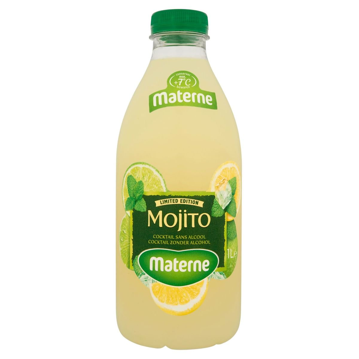Materne Mojito Cocktail sans Alcool Limited Edition 1 L