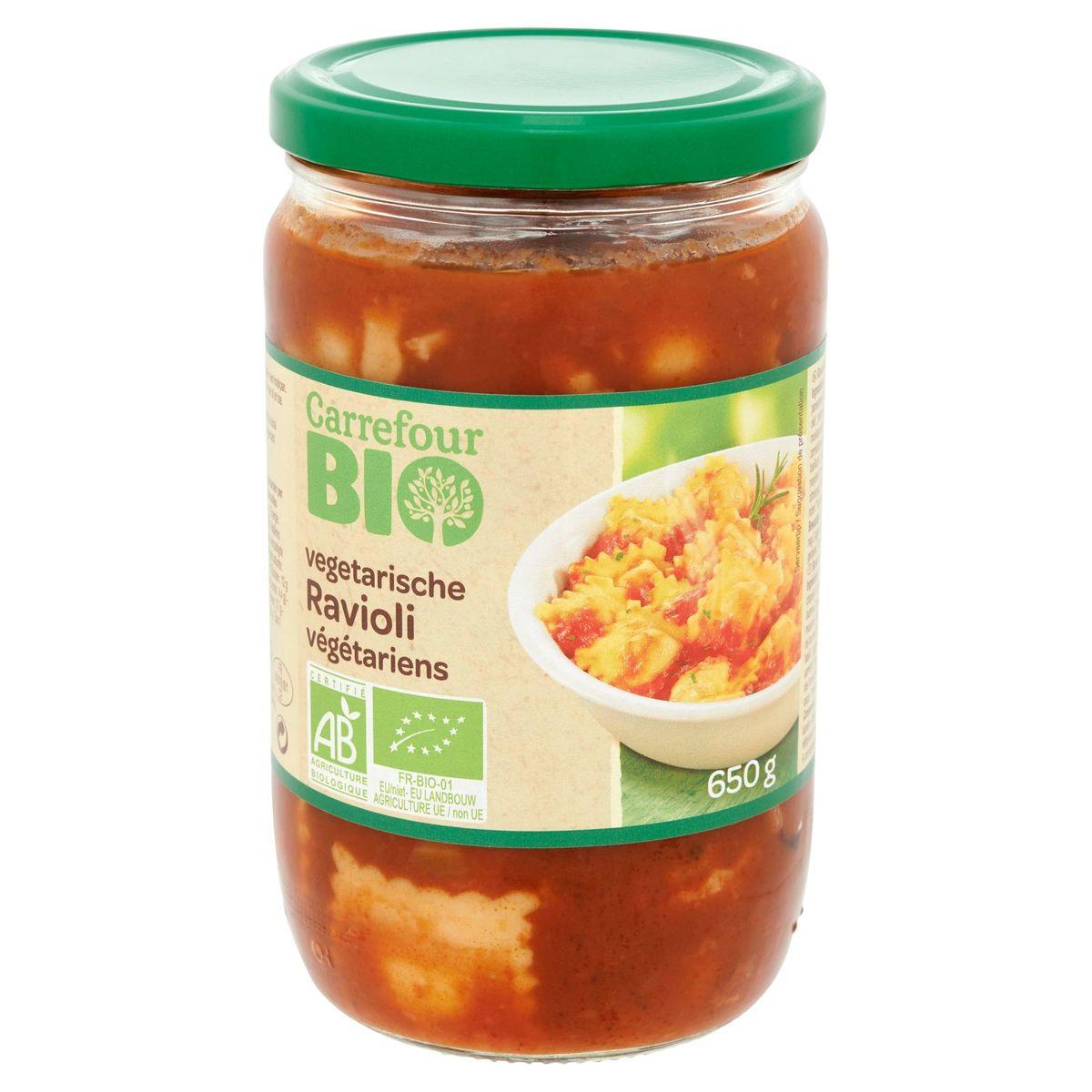 Carrefour Bio Ravioli Végétariens 650 g