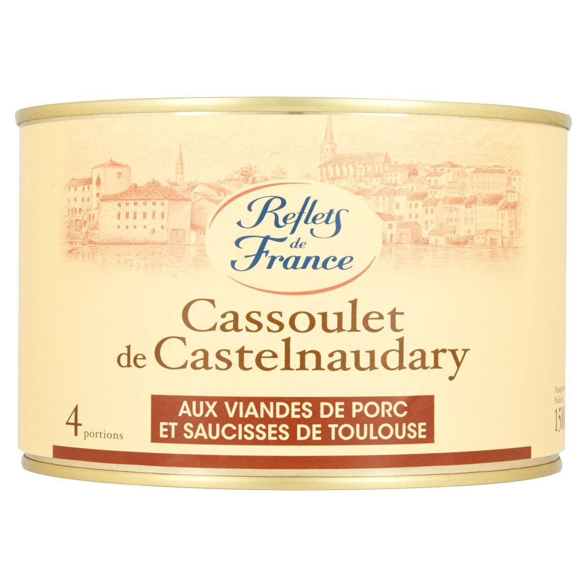 Reflets de France Cassoulet de Castelnaudary 1580 g