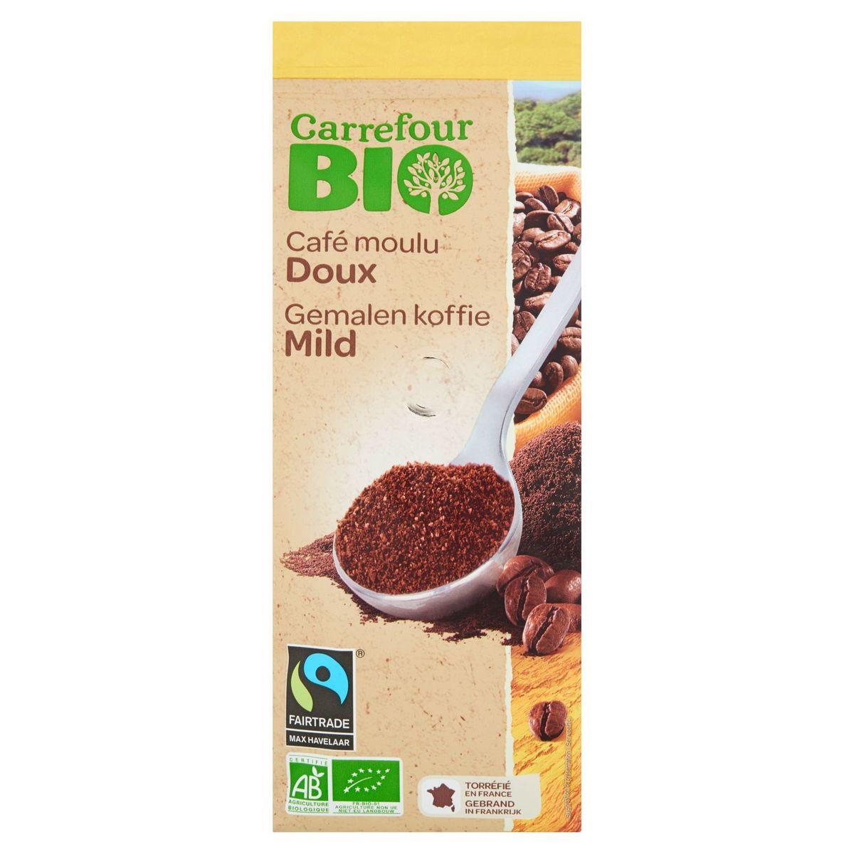 Carrefour Bio Café Moulu Doux 250 g