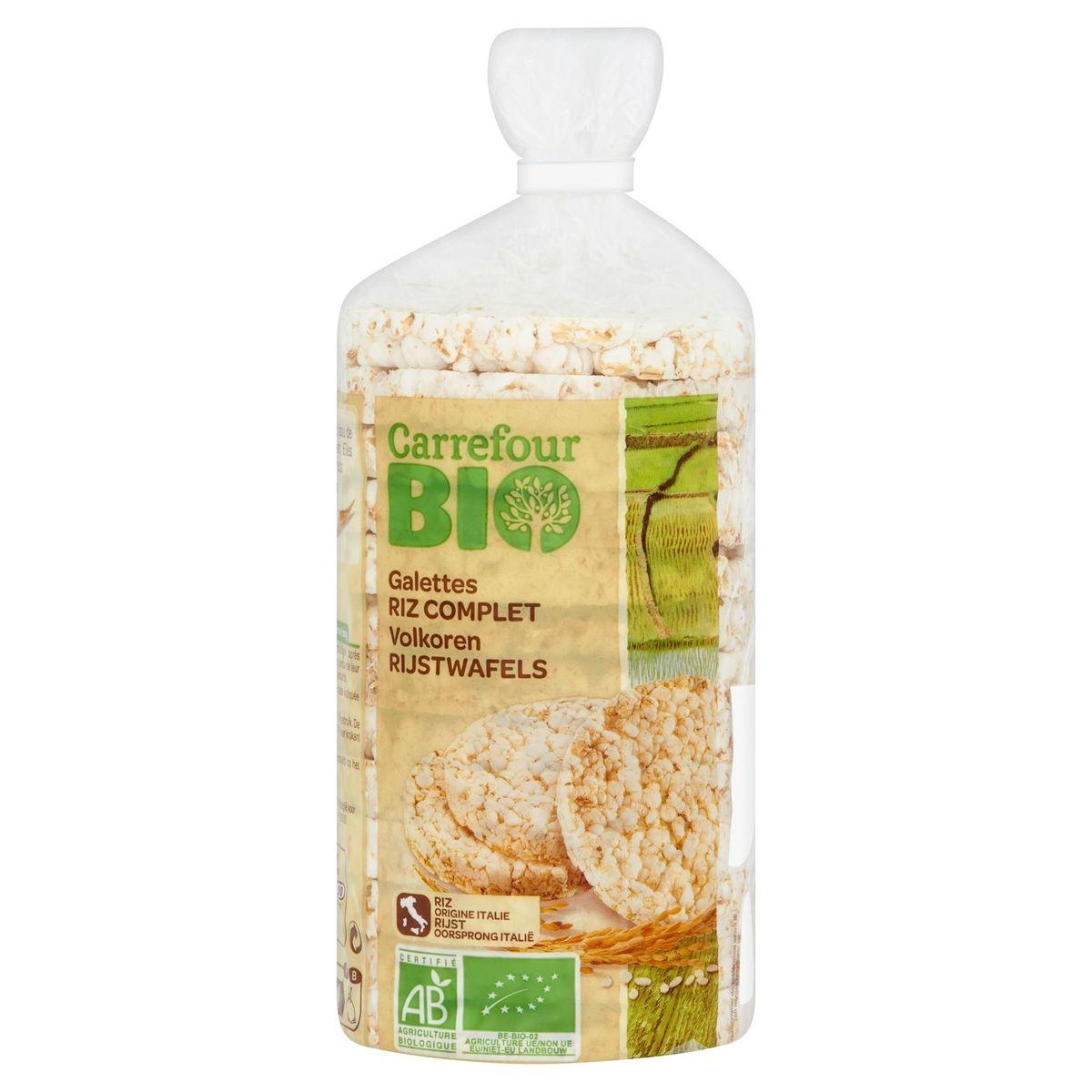 Carrefour Bio Galettes Riz Complet 100 g