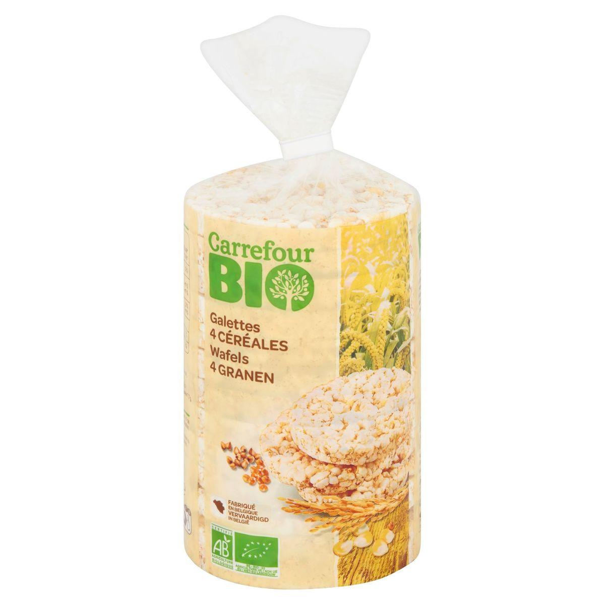 Carrefour Bio Galettes 4 Céréales 100 g