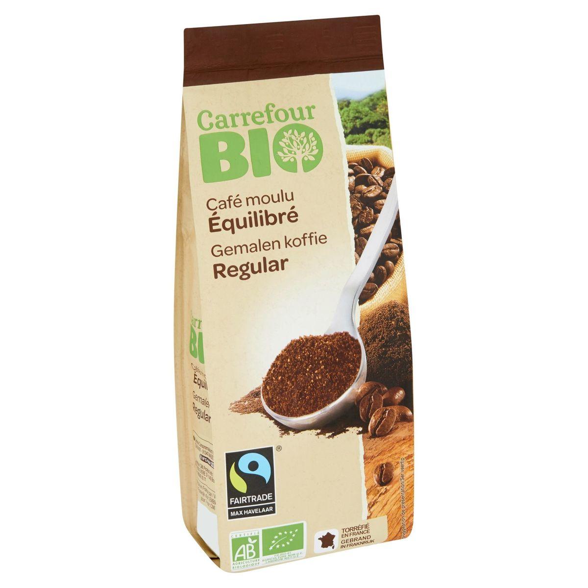 Carrefour Bio Café Moulu Équilibré 250 g