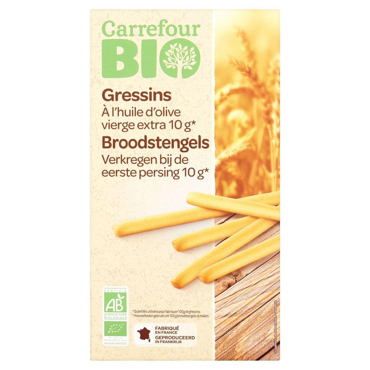 Carrefour Bio Gressins 125 g