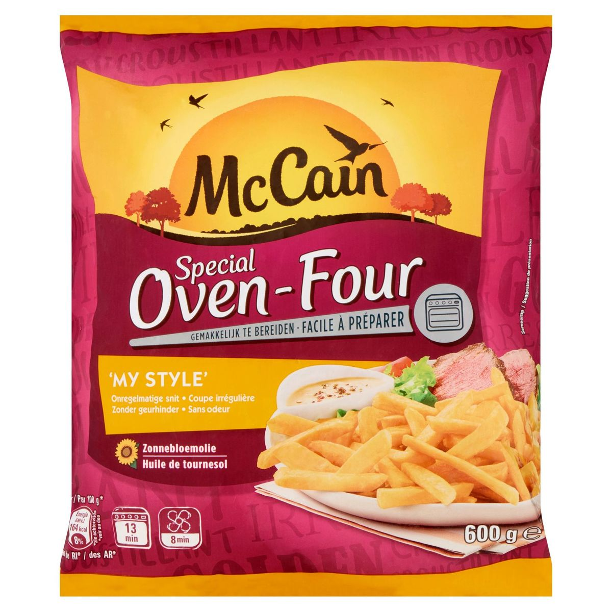 McCain Frites au Four My Style 600 g