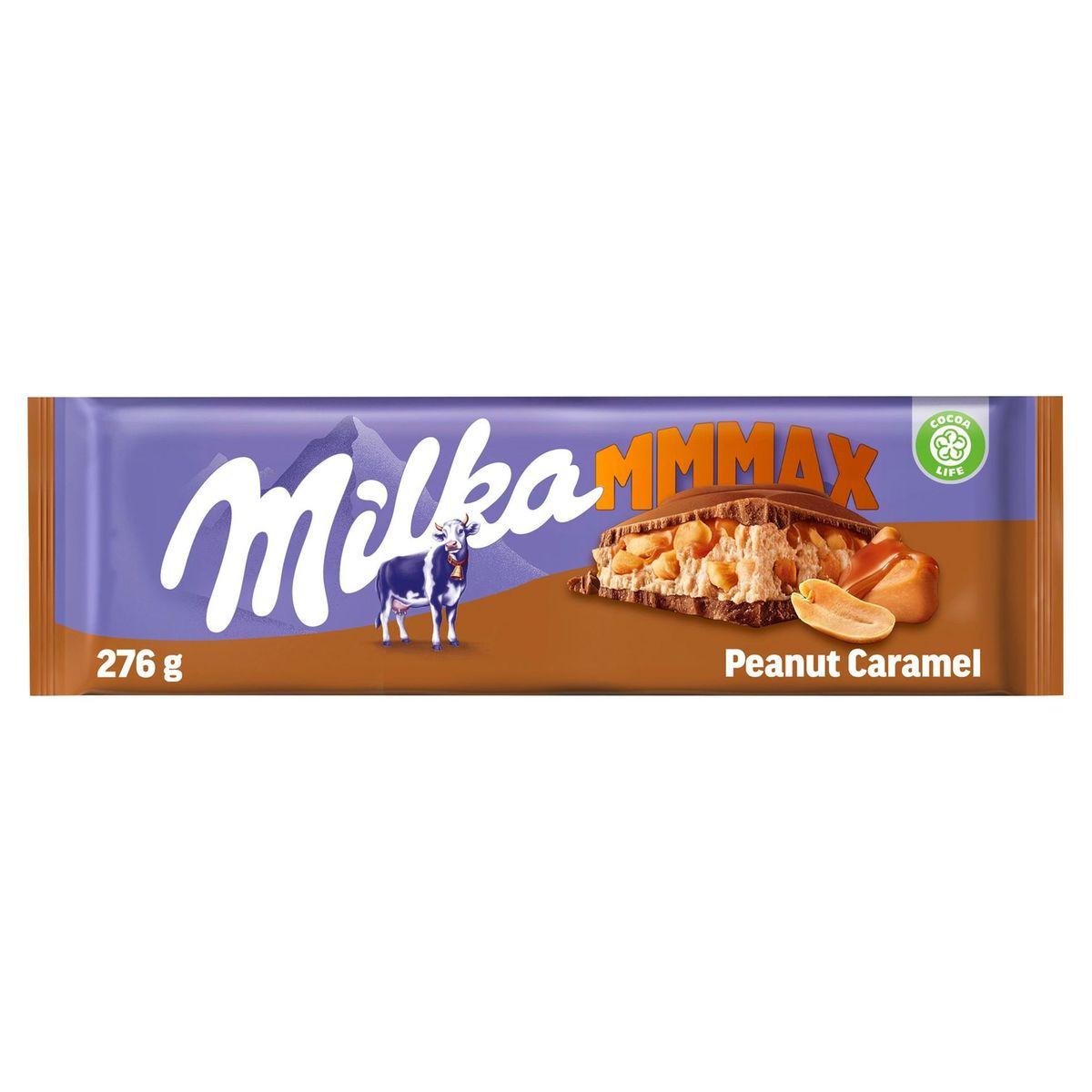 Milka Mmmax Cacahuète & Caramel 276 g