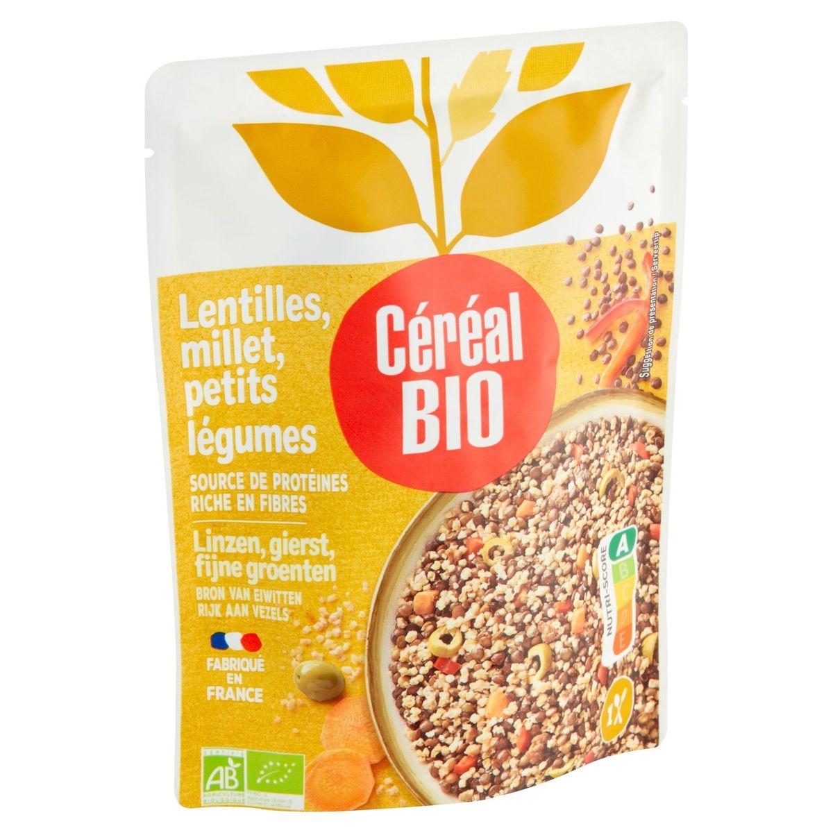 Céréal Bio Lentilles, Millet, Petits Légumes 250 g