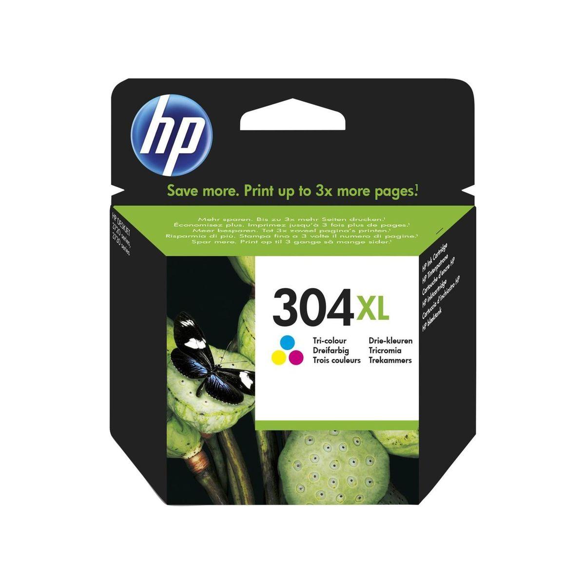HP - Inktcartridge 304XL - Drie-kleuren C/M/Y