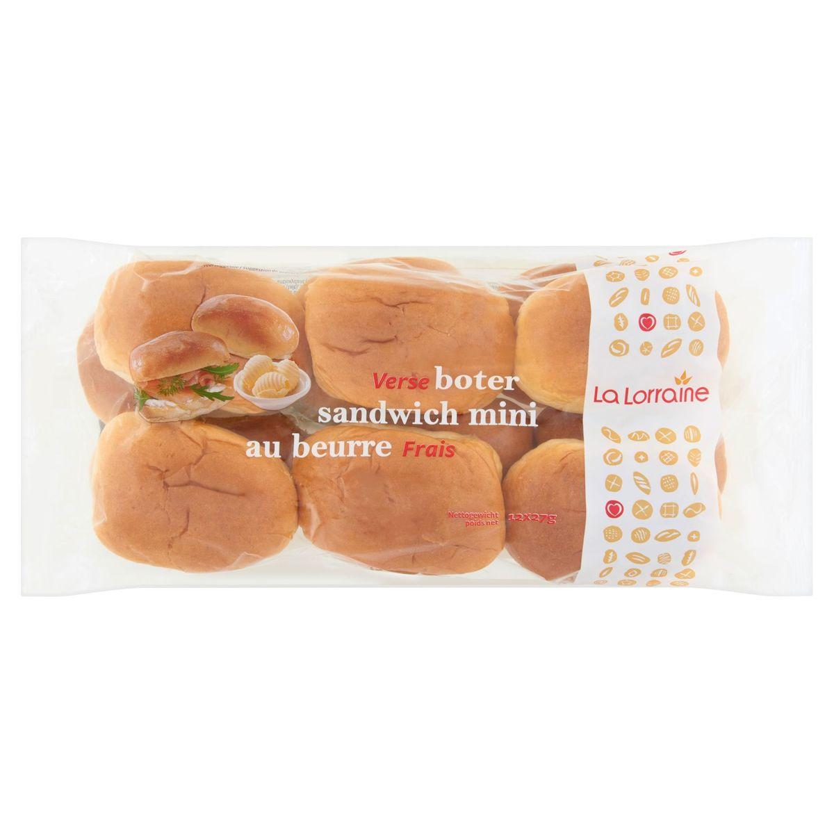 La Lorraine Verse Boter Sandwich Mini 12 x 27 g
