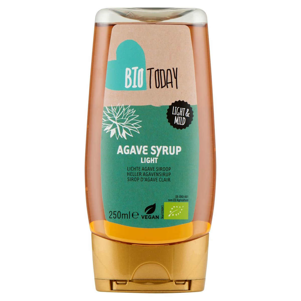 Bio Today Sirop d'Agave Clair 250 ml