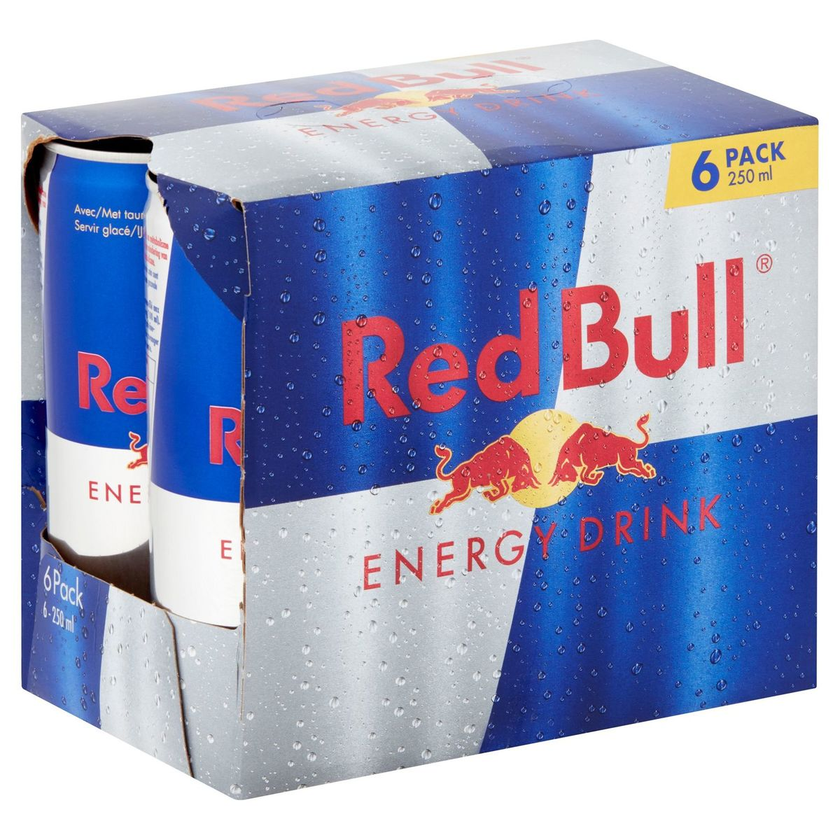 Red Bull Energy Drink 6 x 250 ml