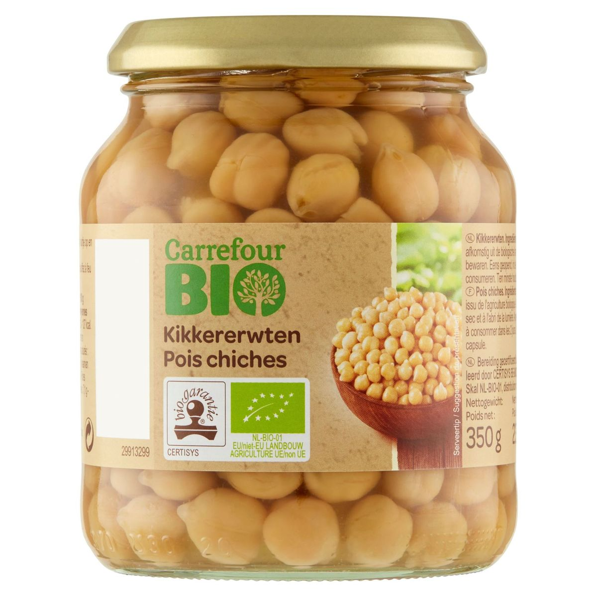 Carrefour Bio Pois Chiches 350 g