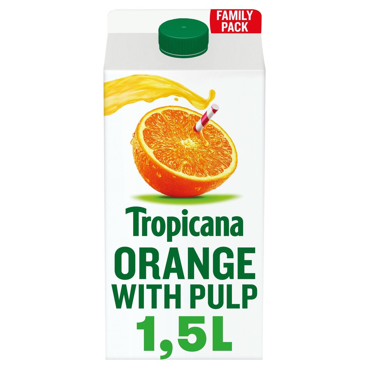 Tropicana Sinaasappelsap Met Pulp Vers Fruitsap 1.5L