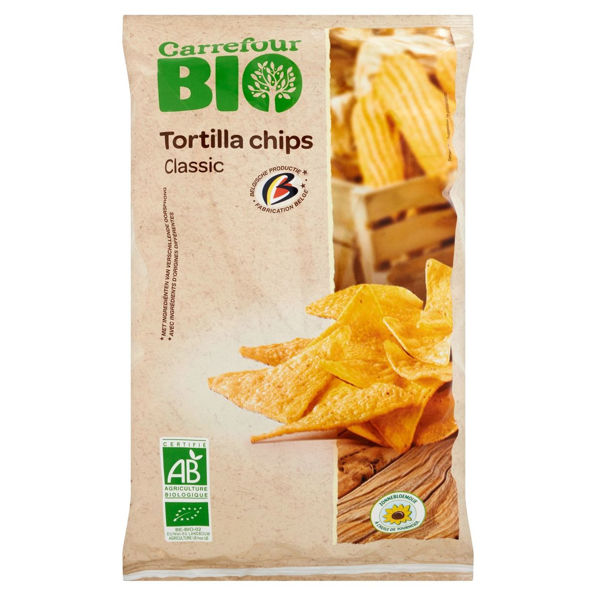 Carrefour Bio Tortilla Chips Classic 125 g