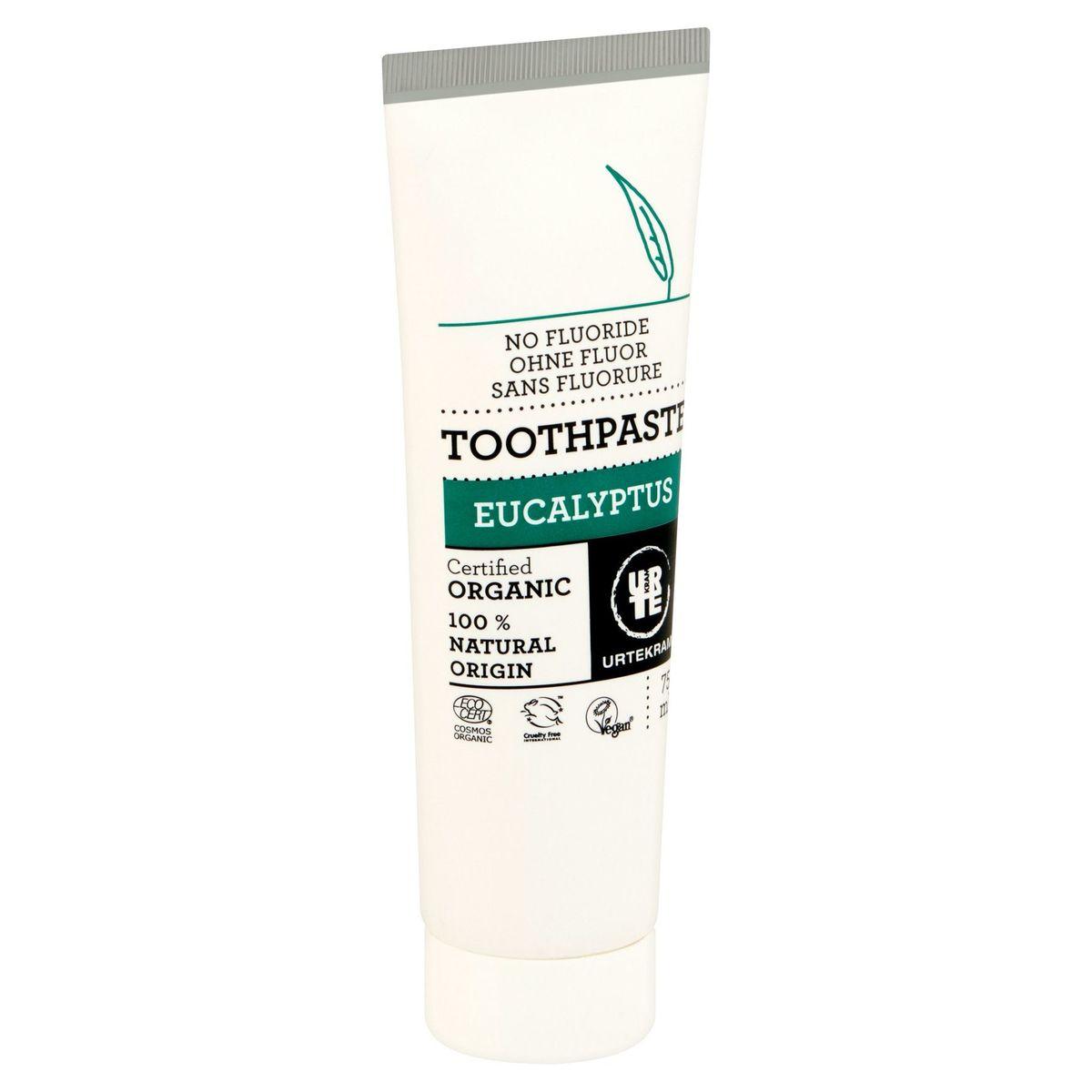 Urtekram Toothpaste Eucalyptus 75 ml
