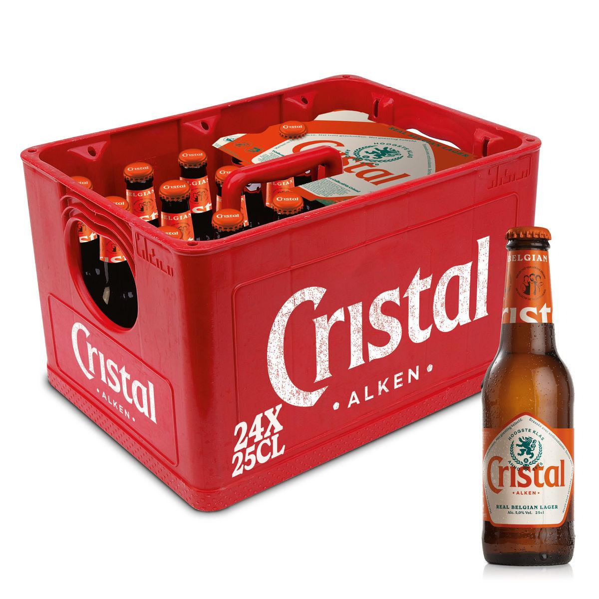 Cristal Alken Real Belgian Lager 24 x 25 cl