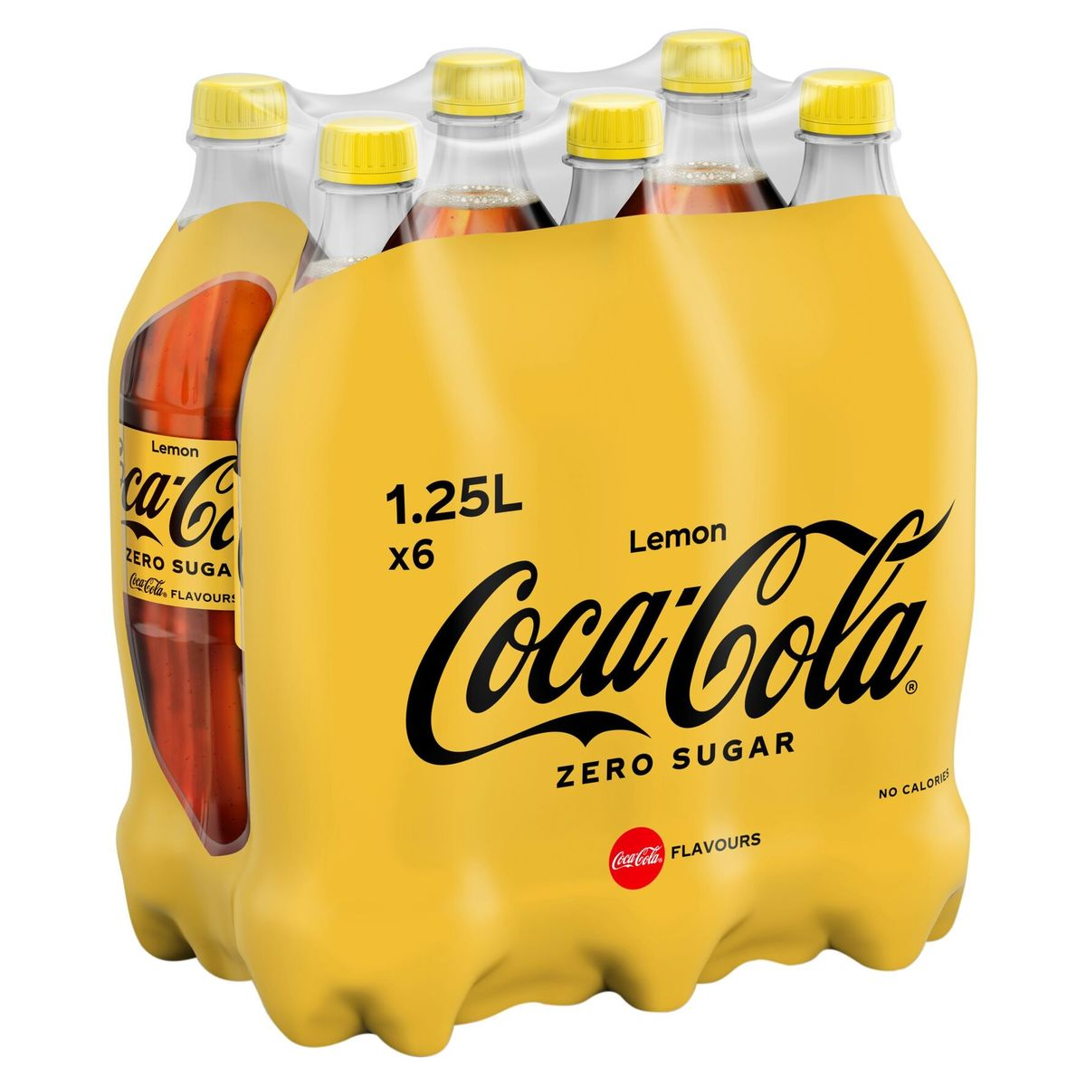 Coca-Cola Zero Sugar Lemon 6 x 1.25 L