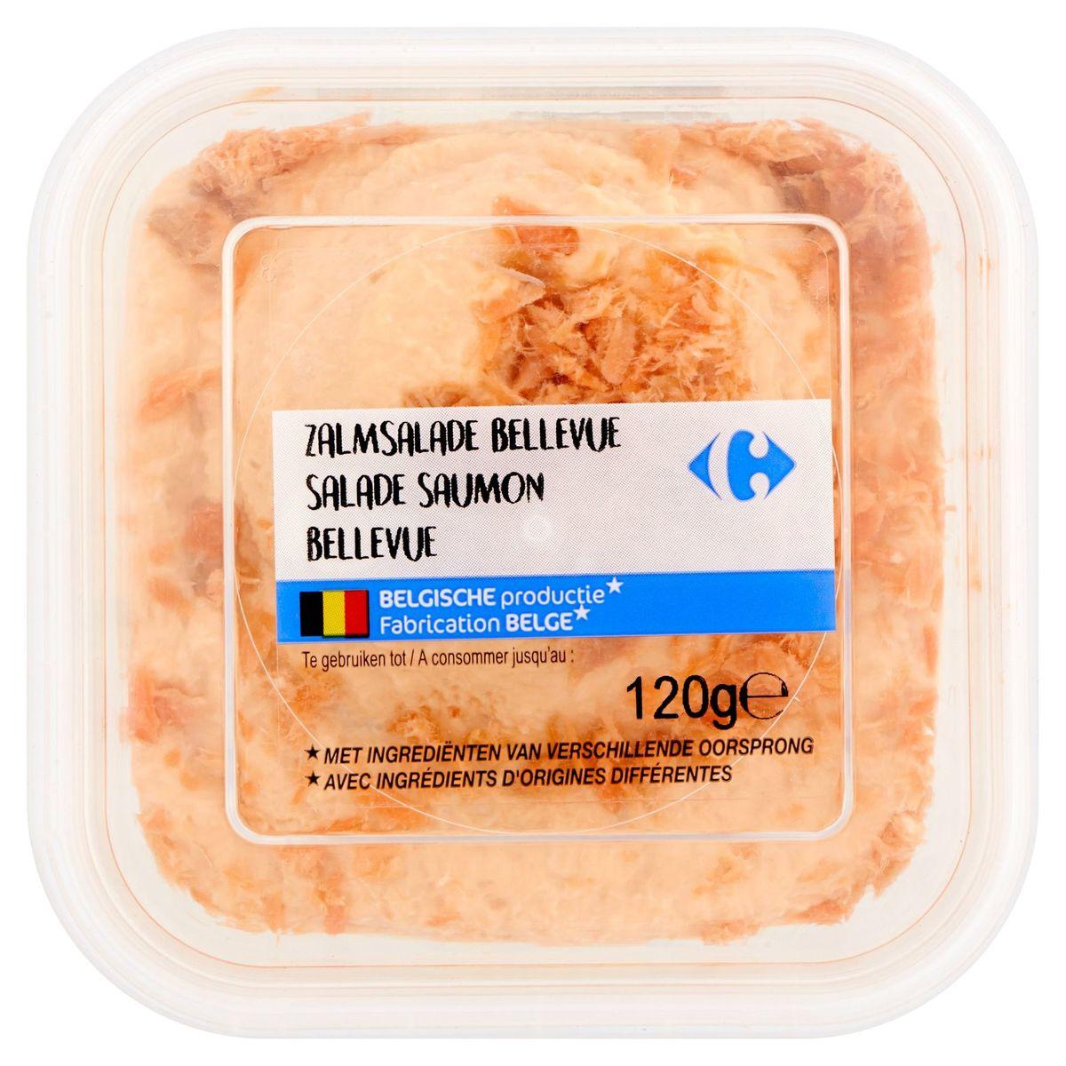 Carrefour Salade Saumon Bellevue 120 g